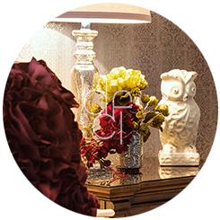 Interior Design - Nightstand Decor