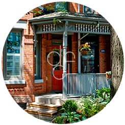 Exterior Decorating - House Porch