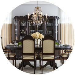 Theodore - Dining Room Circle Feature