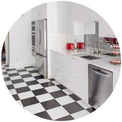 Kitchen Aid Red - Kitchen Circle Feature
